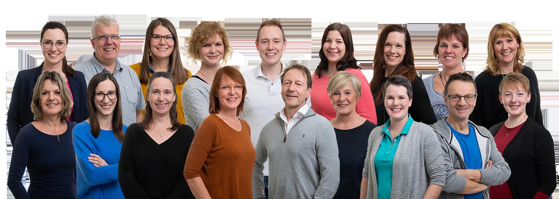 Praxisteam - Praxis Allery für Logopädie und Physiotherapie in Hamm.