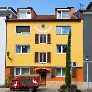 Gebäude - Praxis Allery für Logopädie und Physiotherapie in Hamm.